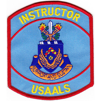 Aviation Logistics School Patch