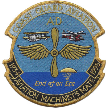 Aviation Machinist's Mate 1934-1998 Patch