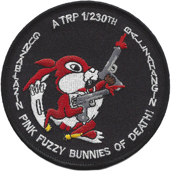 A Troop 1-230th Air Cavalry Squadron Patch