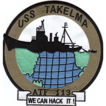 ATF-113 USS Takelma Patch