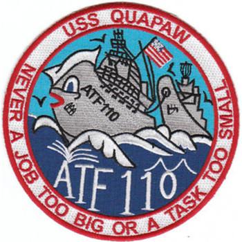 ATF-110 USS Quapaw Patch