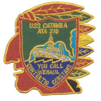 ATA-210 USS Catawba Patch