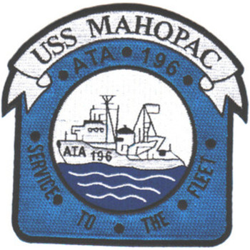 ATA-196 USS Mahopac Patch