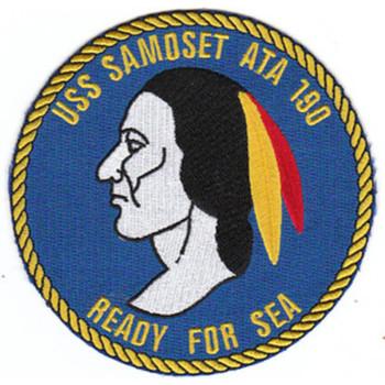 ATA-190 USS Samoset Patch