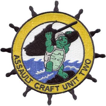 Assault Craft Unit Two ACU-2 Patch