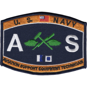 AS Aviation Support Equipment Technician Rating Patch