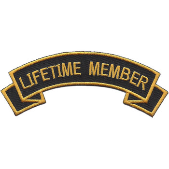 Army Tankers Lifetime Member Patch