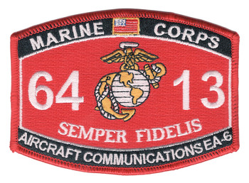 6413 Aircraft Communications EV-6 MOS Patch