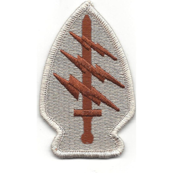 Army Special Operations Command Socom Patch Desert