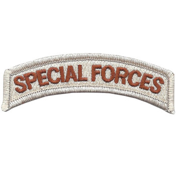 Army Special Forces Rocker Desert Patch
