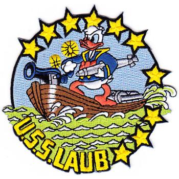 DD-613 USS Laub WWII Patch