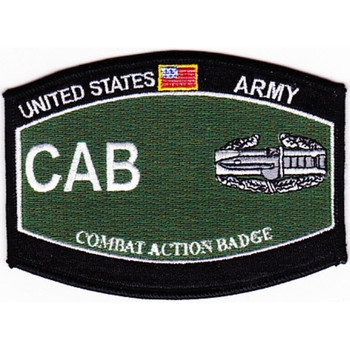 Combat Action Badge Military Occupational Specialty MOS Patch