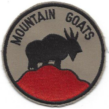 Cold Weather And Mountain Training Center Patch