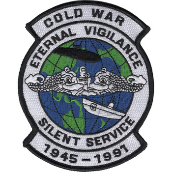 Cold War Silent Service Patch
