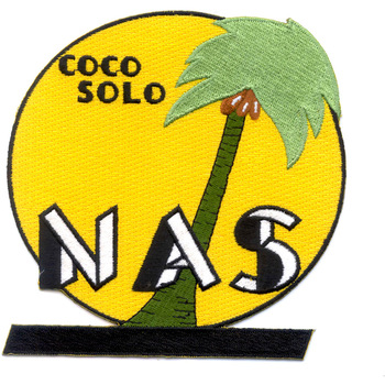 Coco Solo Naval Air Station Patch