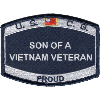 Coast Guard Son of a Vietnam Veteran Patch