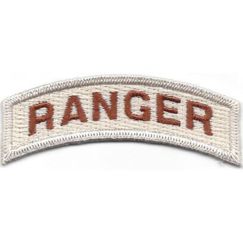 Army Ranger Rocker Desert Patch
