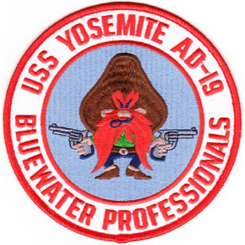 AD-19 USS Yosemite Destroyer Tender B Version Patch