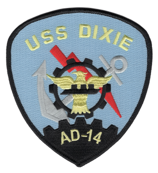 AD-14 USS Dixie Patch