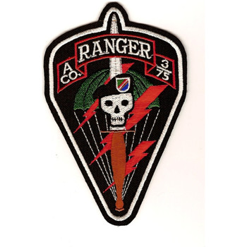A Company 3/75 Ranger Patch
