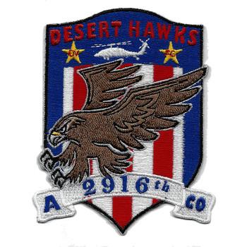A Company 2916th Aviation Battalion 2 Star Patch