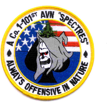 A Company 1st Squadron 101st Division Spectres Patch