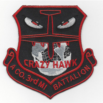 A Co. 3rd Military Intelligence Battalion Patch