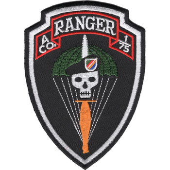 A Co 1/75 A Company 1st Battalion 75th Ranger Regiment Patch