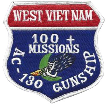 AC-130 Gunship 100 + Missions Patch