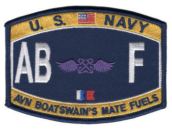 ABF Deck Rating Aviation Boatswain's Mate Fuels Patch