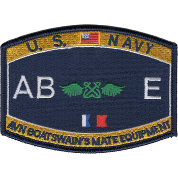 ABE Aviation Rating Boatswain's Mate Equipment Patch
