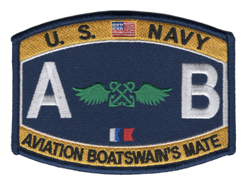 AB Aviation Rating Boatswain's Mate Patch