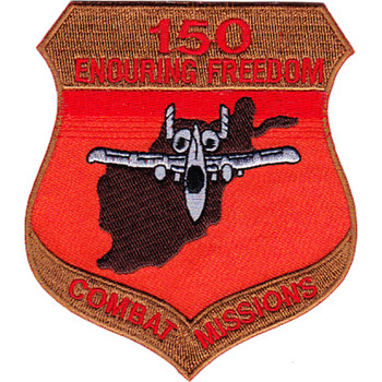 A-10 Thunderbolt 150 Combat Missions OEF Patch