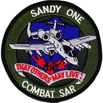 A-10 Call Sign Sandy 1 Patch That Others May Live