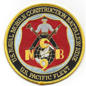 9th Mobile Construction Battalion Patch