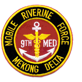 9th Medical Battalion Mobile Riverine Force Patch