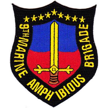 9 Th Marine Amphibious Brigade Patch