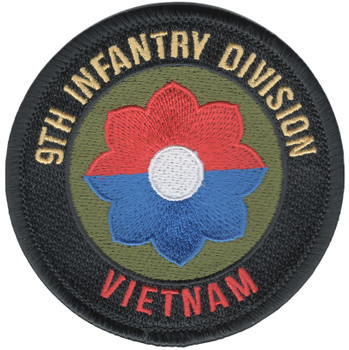 9th Infantry Division Vietnam Patch