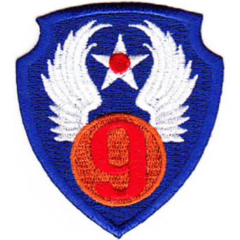 9th Air Force 1942 Patch