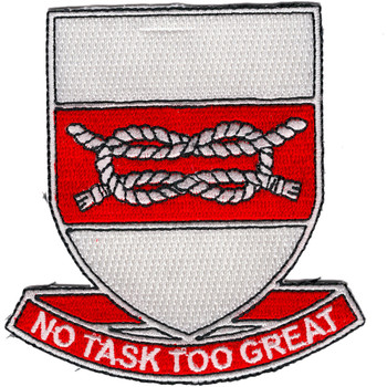 97 Engineering Battalion Patch