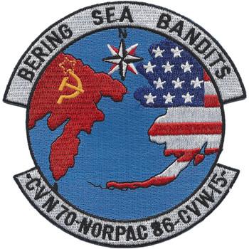 Bering Sea Bandits Patch CVN-70 & CVW-15