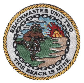 Beachmaster Unit Two Patch This Beach Is Mine
