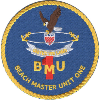 Beach Master Unit One Patch United We Land