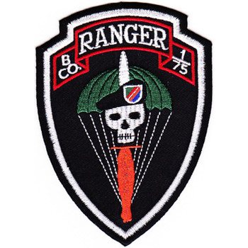 B Company 1st Battalion 75th Ranger Regiment Patch
