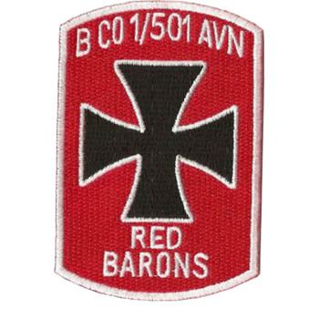 B Company 1st Battalion 501st Aviation Regiment Patch
