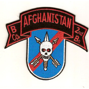 B Co 2nd Battalion 20th SFG Patch