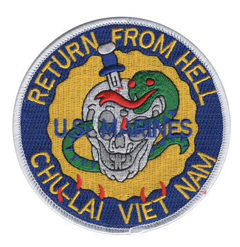 Base Chu-Lai South Viet Nam 1965-1971 Patch