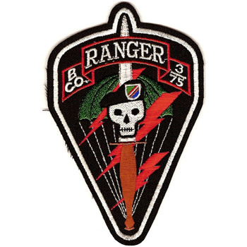 B-3/75th Ranger Regiment Patch