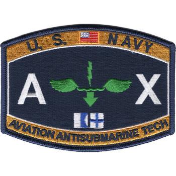 AX Aviation Rating Aviation Antisubmarine Technician Patch