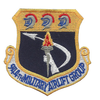 944th Military Airlift Group Patch
